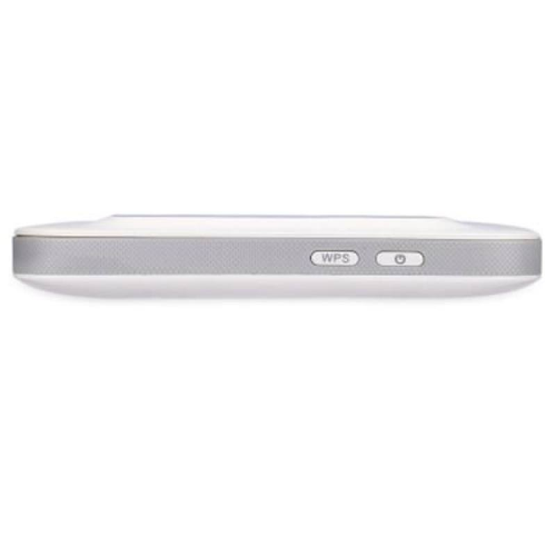 KINLE K5 4G / 3G LTE 150MBPS WIRELESS MOBILE WIFI HOTSPOT ROUTER WITH COLOR DISPLAY SCREEN (WHITE)