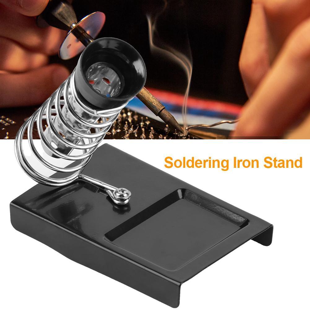 Metal Soldering Iron Stand Holder Support Station Base
