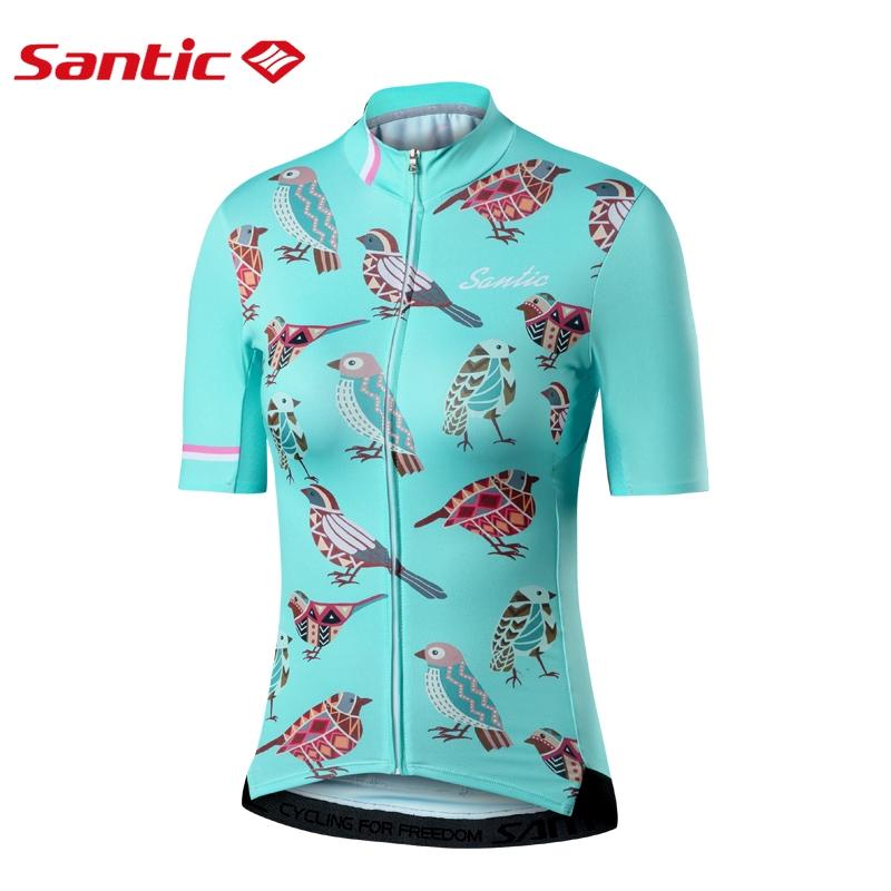 Santic Men Long Sleeve Cycling Jerseys Anti-UV Road Bike MTB Tops Shirt  M8C01099  5b728d189