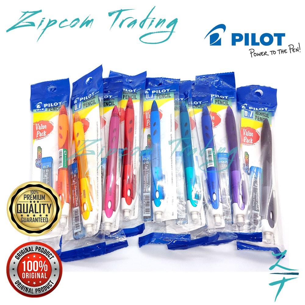 [Value Pack] Pilot Rexgrip Mechanical Pencil With Pencil Leads