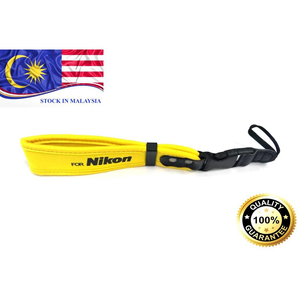 Neoprene Wrist Strap for Nikon DSLR Cameras (Ready Stock In Malaysia)