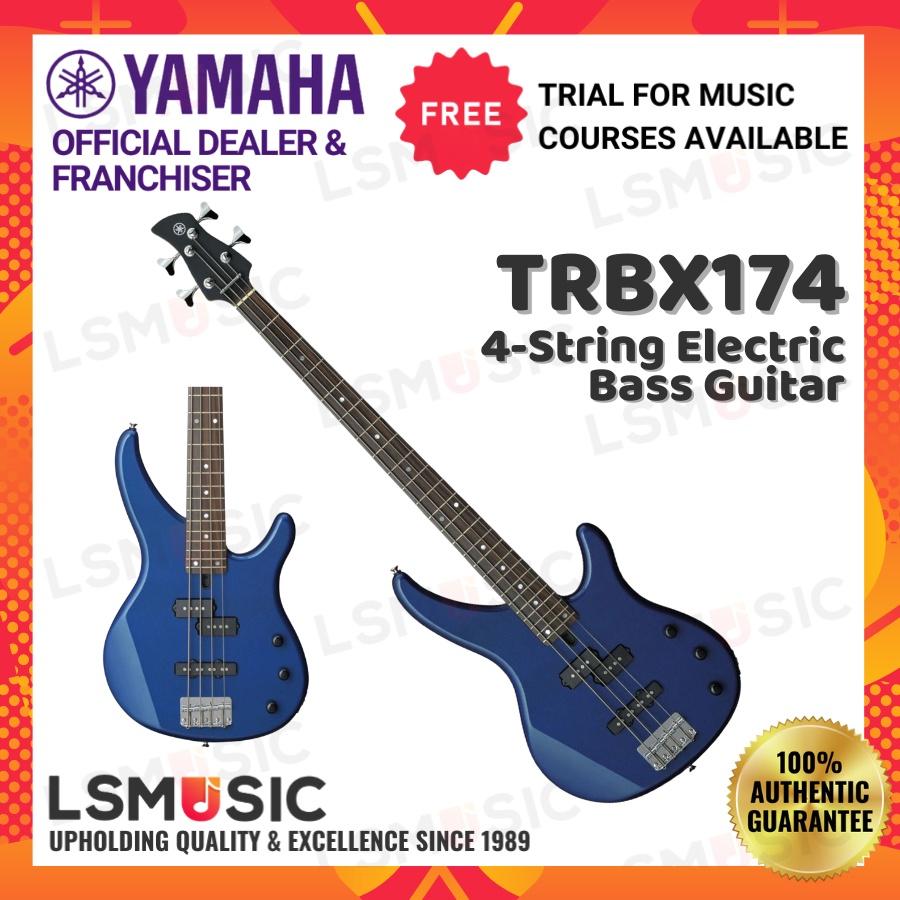 Yamaha TRBX174 4-string Electric Bass Guitar (TRBX 174/TRBX-174)