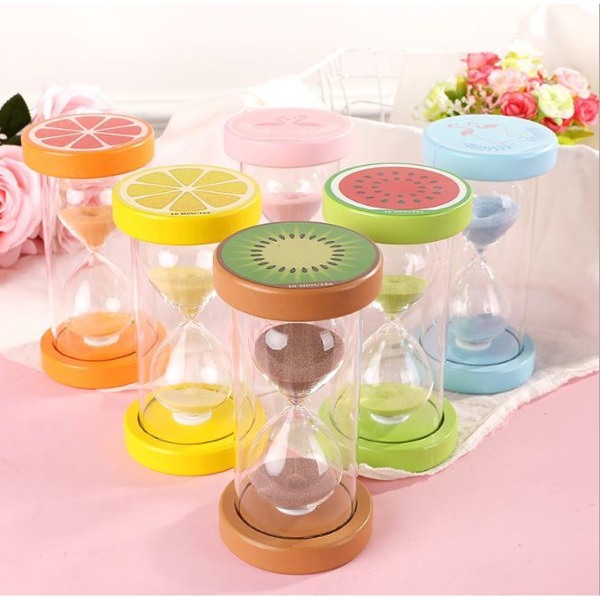 Creative Home Decoration Fruitful Hourglass Timer Ten Minutes