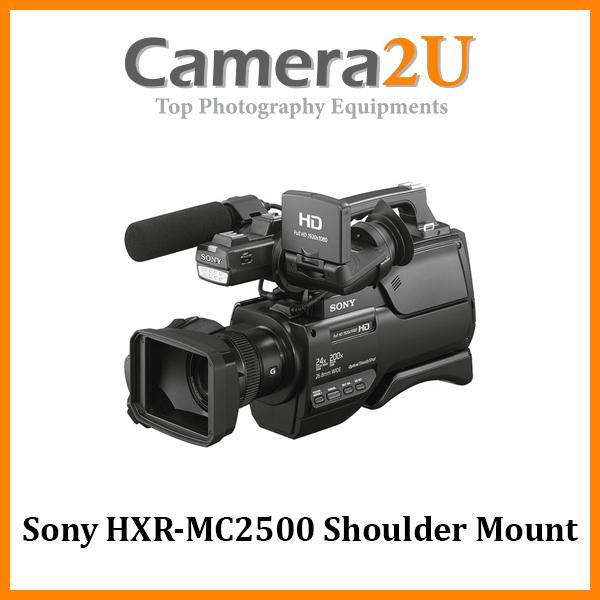 Sony HXR-MC2500 Shoulder Mount AVCHD Camcorder (Sony MSIA)