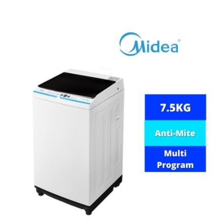 [FREE INSTALLATION] Midea Fully Auto Washing Machine With Digital Display (7.5KG ) MA100W75