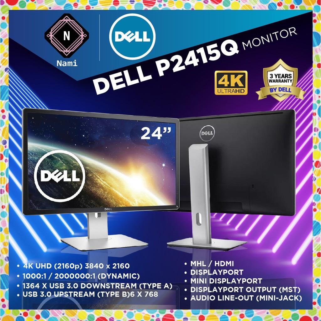 Dell P2415Q 24 Ultra HD 4K IPS Professional LED Monitor (3840 x 2160)