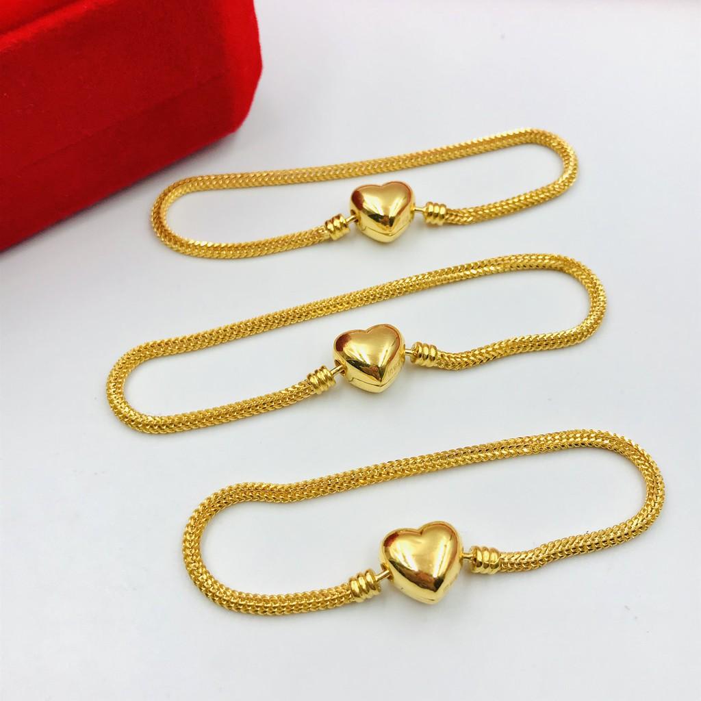 Gelang Emas Masdora Klip Love Eksklusif/Masdora Exclusive Love Clasp Bracelet (Emas 916)
