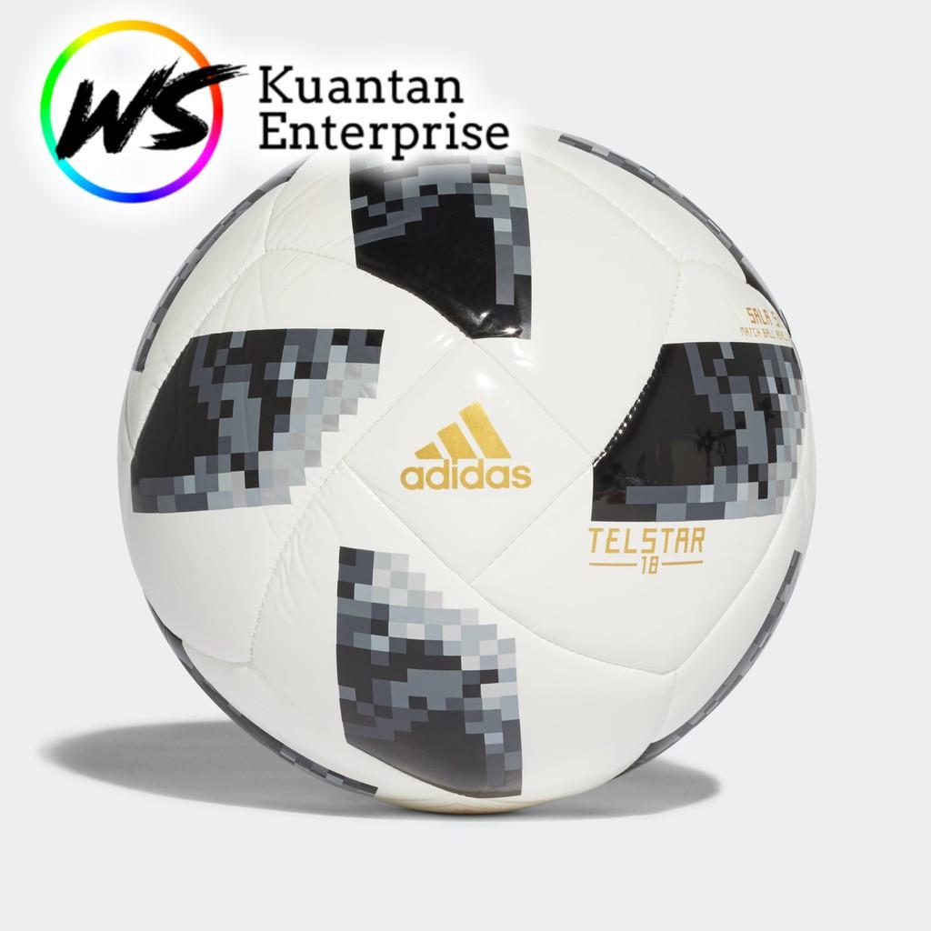 【100% Original】Adidas World Cup Telstar 18 S5X5 Futsal Ball  (Size 4)