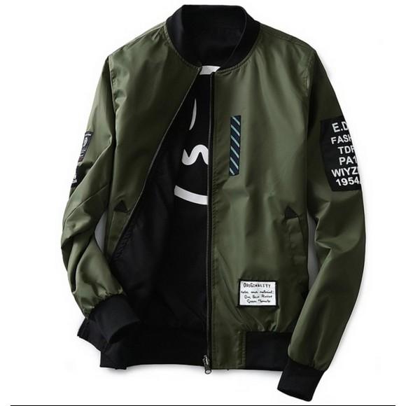 92 Desain Jaket Bomber Army Terbaik