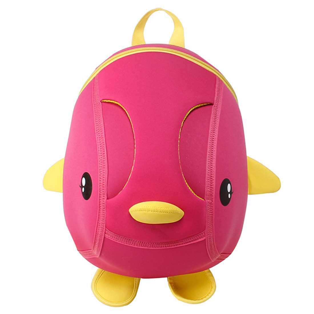 Children Backpack KK018 (Rose Red)