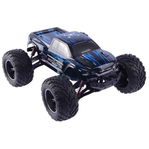 9115 1 /12 SCALE 2.4G 4CH RC TRUCK CAR TOY  2-WHEEL DRIVEN ELECTRIC RACING(BLUE)