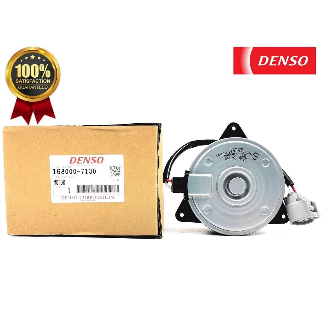 MORDNDTLEX127130-TYT LEXUS RX270'12 DENSO RADIATOR MOTOR(ORG)168000-7130(16363-23050)-WHITE/RED WIRE-2 PIN-S TYPE