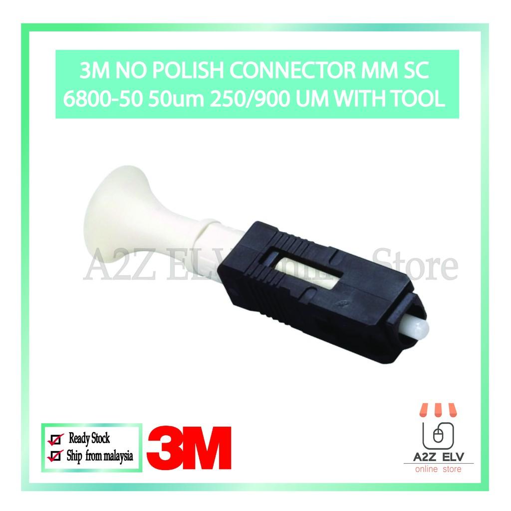 3M 6800-50 NPC SC MM 50um 250/900 - Field Installable Connectors