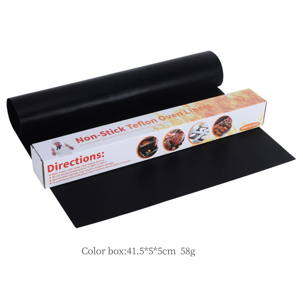 1x Hot Sale Non-Stick Oven Liner Baking Large Aide Dishwasher Reusable Spill Mat