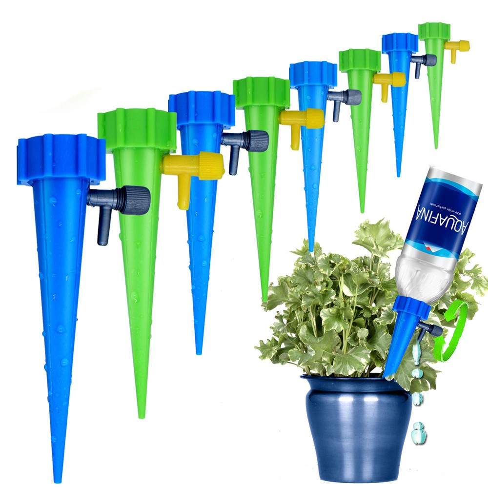 Diy Automatic Watering Seepage Moving Plant Bottles Lazy Flower Drip Watering Kits Drip Irrigation