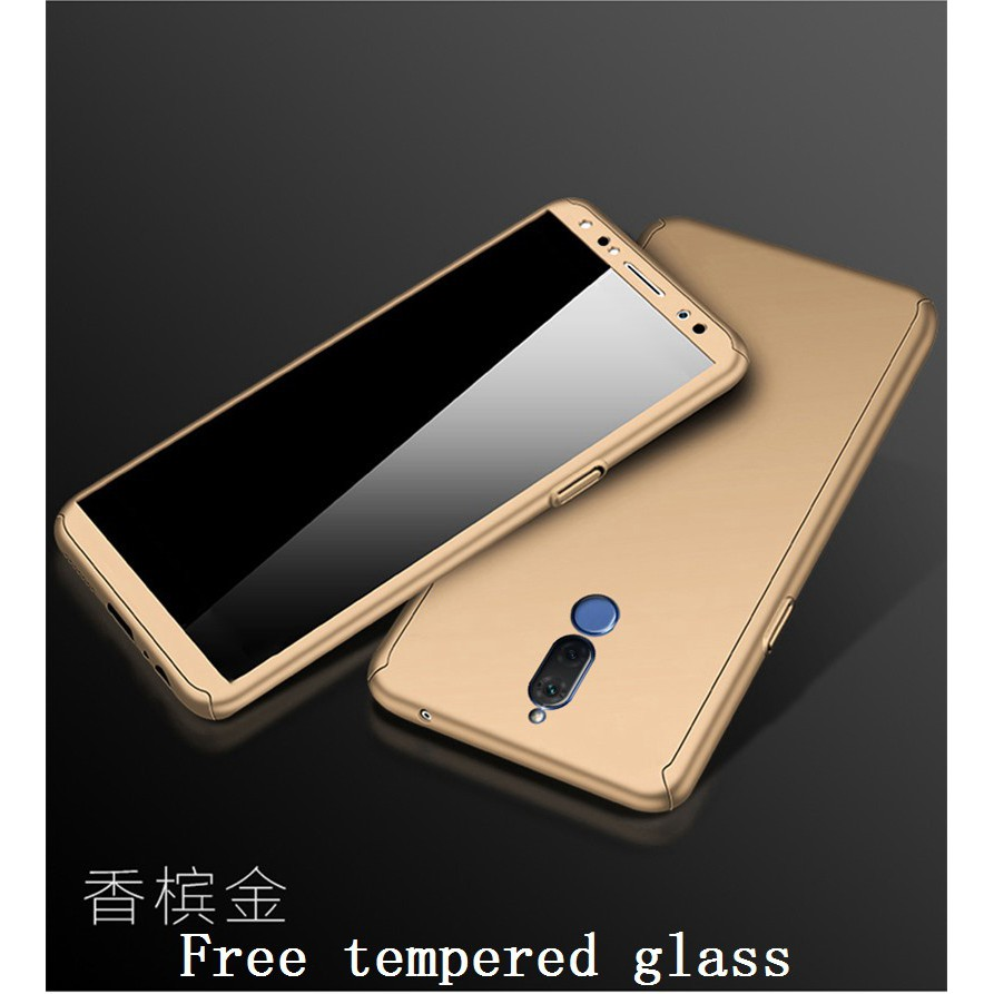 For VIVO Y55 Gold 360 Protection Hard Case Cover Free Glass #223 | Shopee Malaysia
