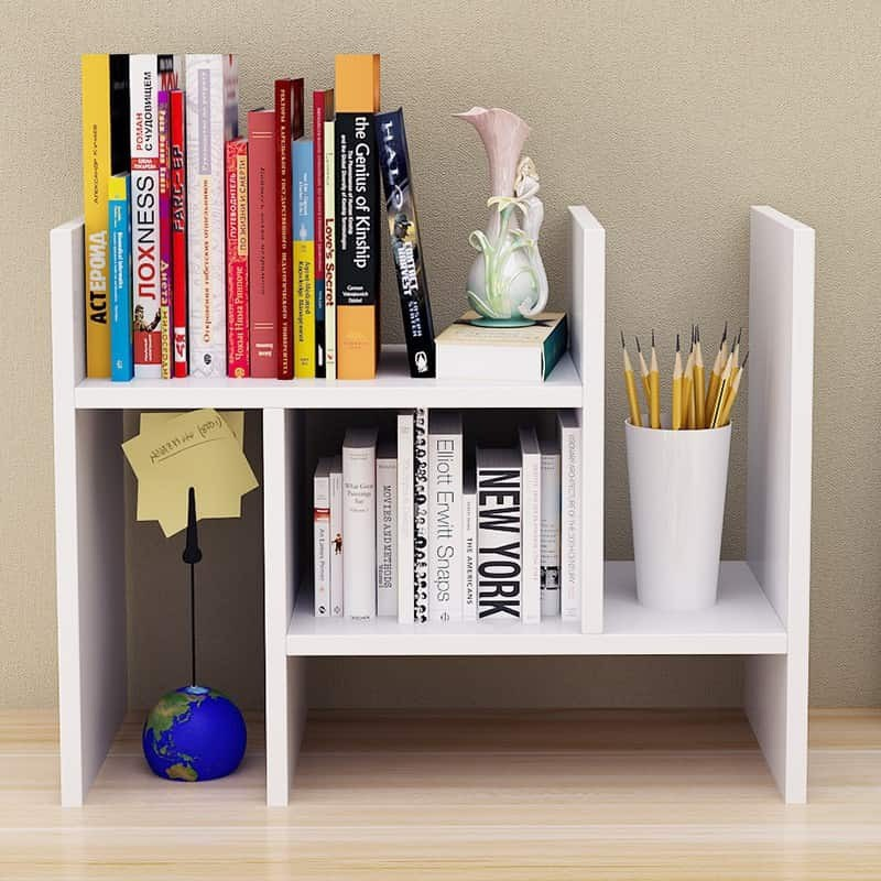 Portable Office Table Book Shelf Magazine Document Book Rack