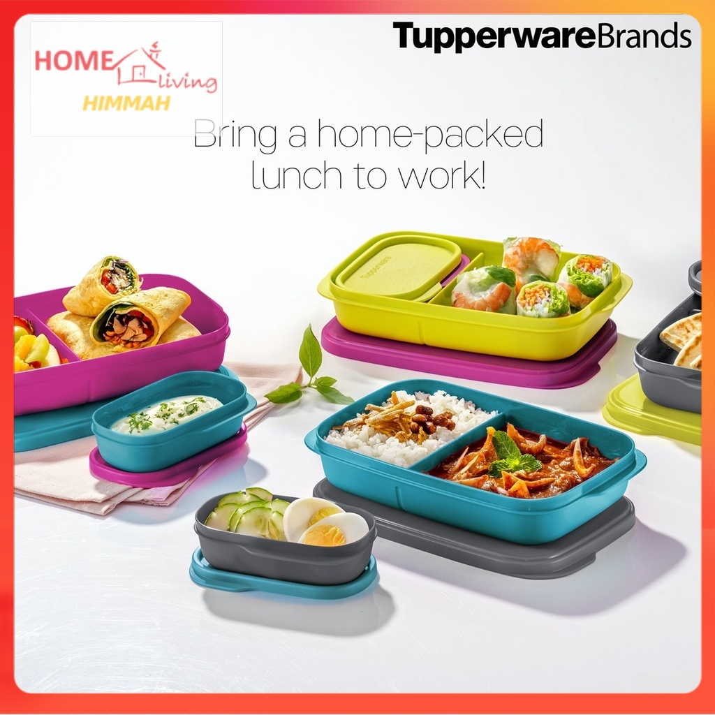 Tupperware Foodie Buddy Lunch Box - Foodie Buddies -  Tupperware lunch box - Tupperware TUPpao goodies