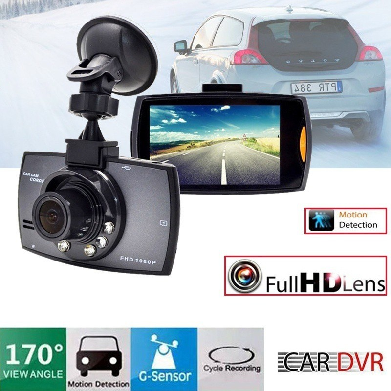 HD 1080P Car SUV DVR Video Camera Recorder Dash Cam G-sensor IR Night Vision