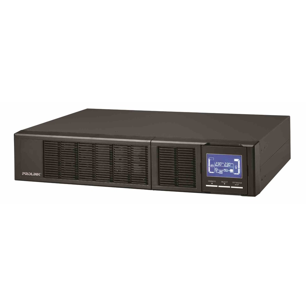 PROLiNK 2KVA / 1600W Pure Sine Wave Rackmount Online Smart UPS with AVR PRO902WRS