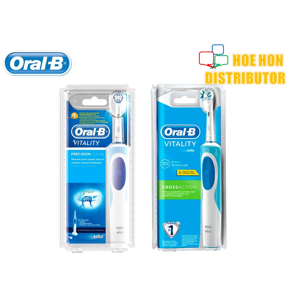 Oral-B Vitality Rechargeable / Electric Precision Clean Crossaction  Toothbrush