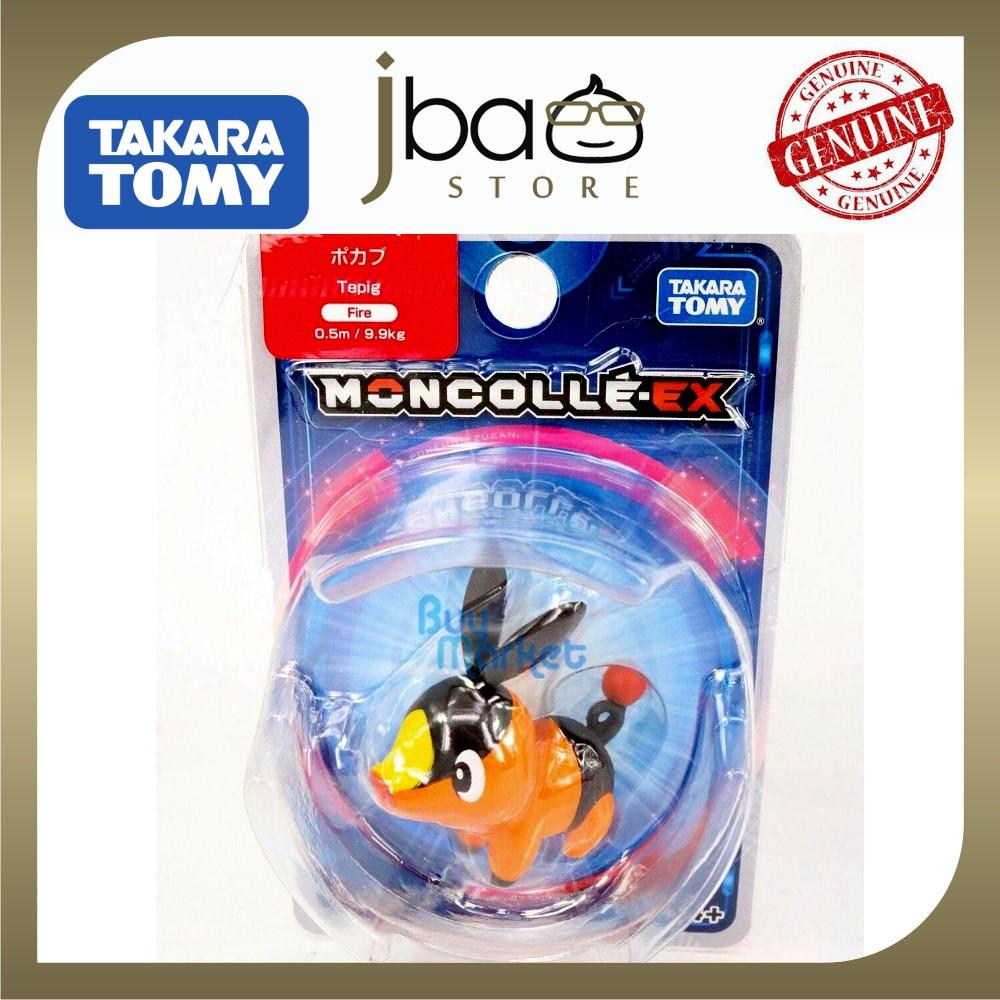 Takara Tomy Pokemon Moncolle EX Sun Moon Tepig Mini Figure Asia Ver 4cm