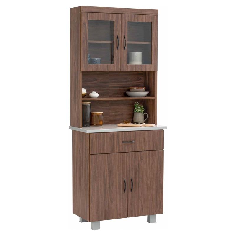FREY tile mosaic top kitchen cabinet/ kabinet dapur