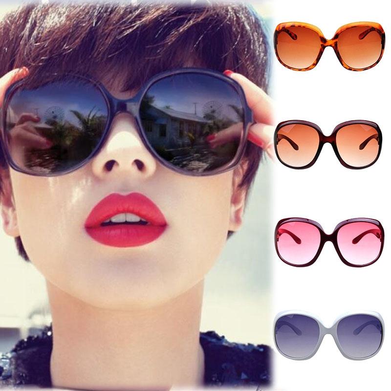 Men & Women's Retro Sunglasses Unisex Gradient Color Eyeglasses Goggles
