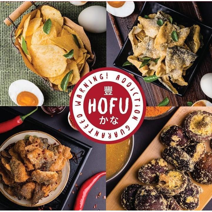 [Original] Hofu Snacks Packet (Salted Egg Potato Chips, Crispy Fish Skin, French Fries, Ebi Cheek & Fries)