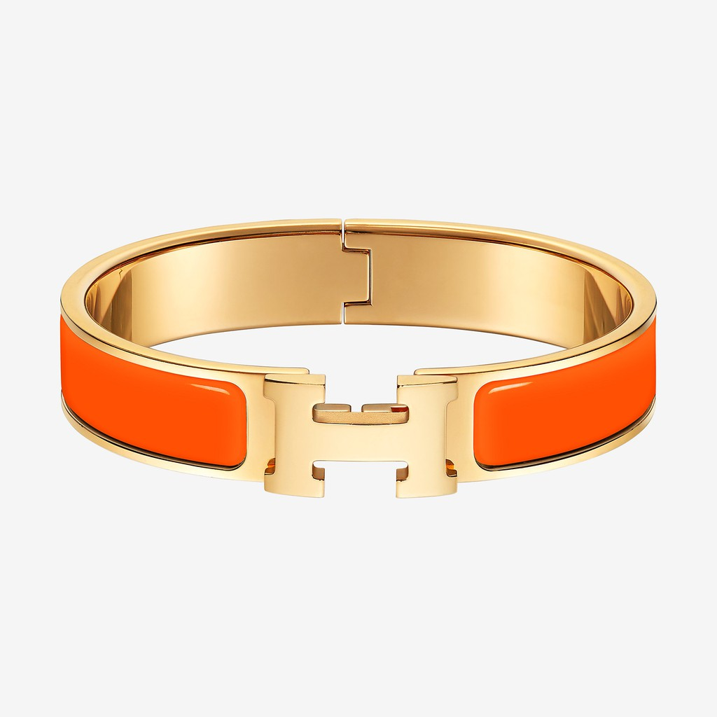 ad6bfd38fe0b Hermes H-shaped Buckle Bracelet Bangle   Shopee Malaysia