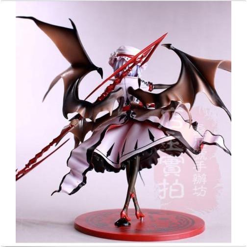 Touhou Project Koumajou Densetsu Second Remilia Scarlet Anime Action Figure Toys