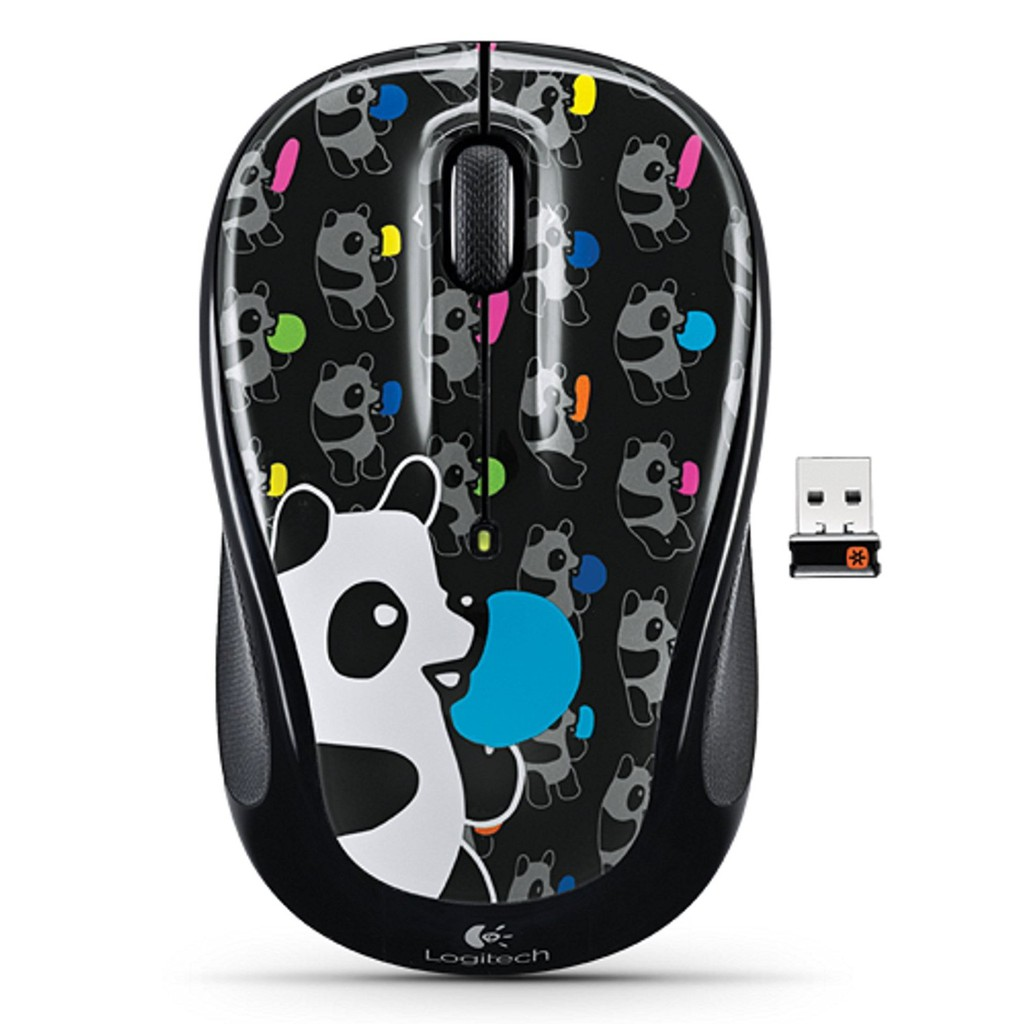Dell Wireless Optical Mouse Wm123 Black 100 Oem 1 Year Warranty Usb Branded Hitam Shopee Malaysia