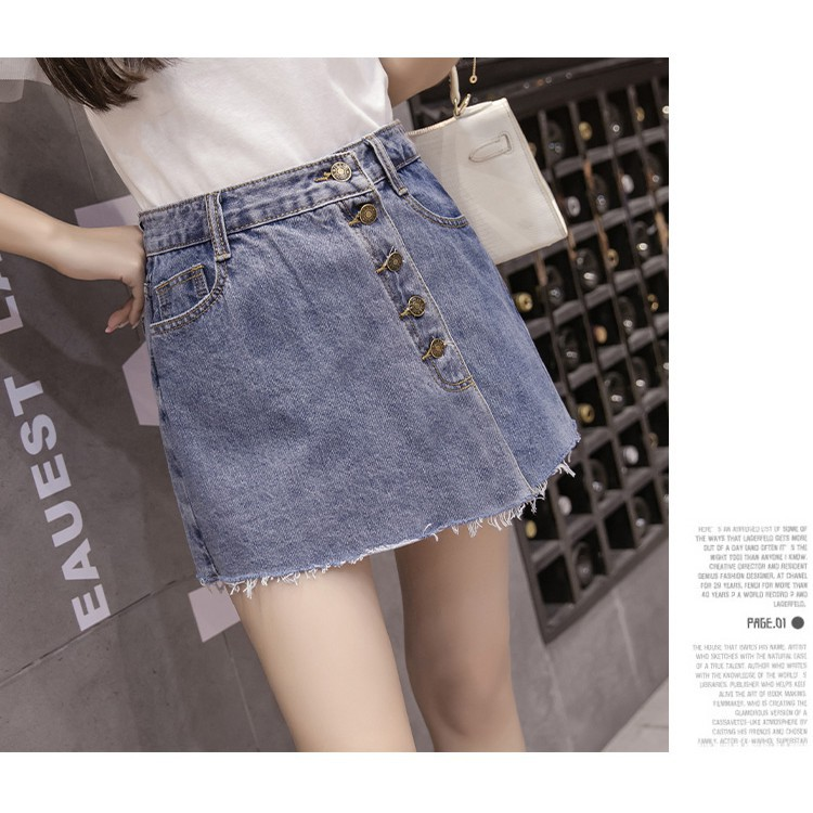 3b63f4b7f Summer Jeans Skirt pants Women High Waist Edges Denim Skirts Casual Pencil  Skirt
