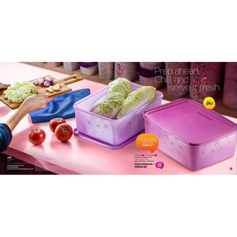 Chill Freeze Large (1) 5.7 litre Tupperware