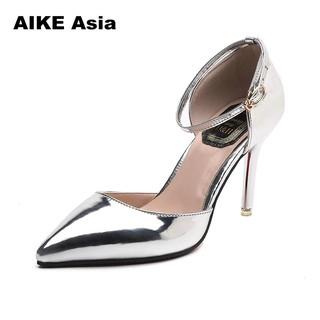 b9ff6c87b7 2018 Women Pumps Fashion Sexy High Heels Shoes Women Pointed Toe ...