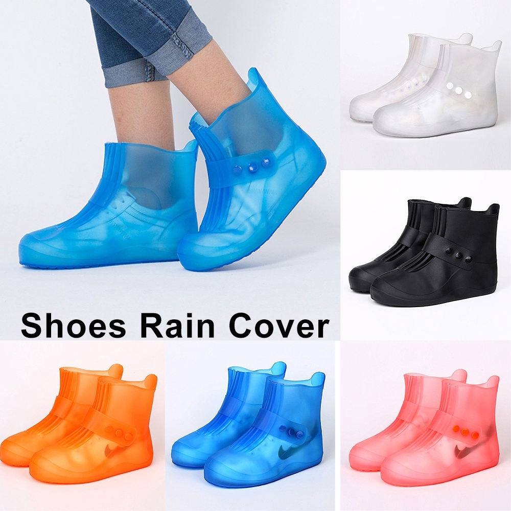 Women Men Rain Shoes Cover Waterproof Shoe Protector Rainy Days Overshoes