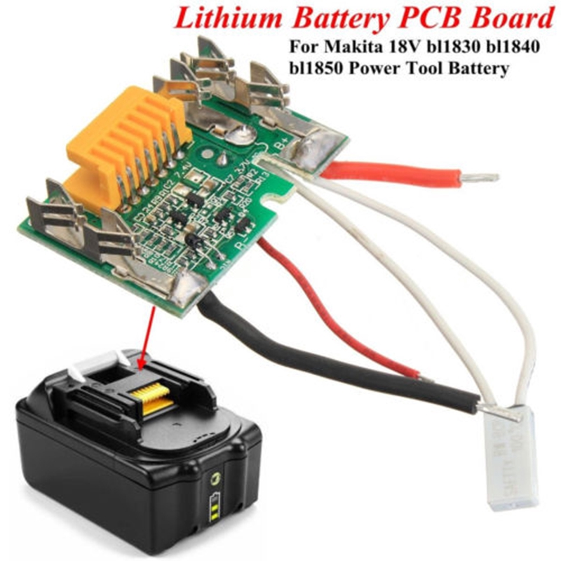 10X 1S 3.7V 3A Li-ion Lithium Battery 18650 Charger PCB BMS Protection Board Set