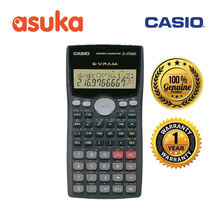 71089ab72241 Casio fx-570MS Scientific Calculator with 410 Functions