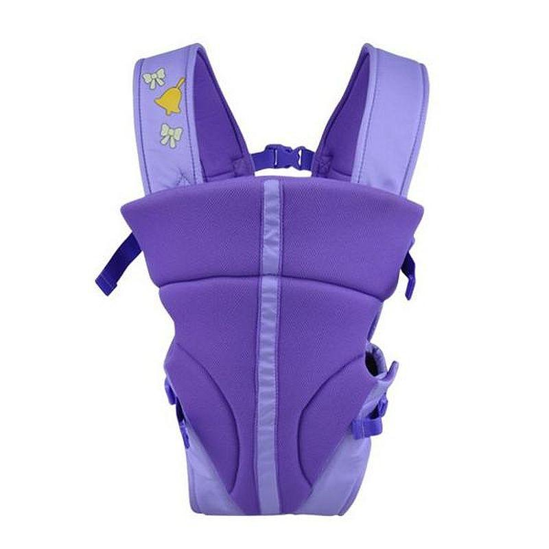 Mylilangelz KA0166 Becute Ergonomic 3-In-1 Baby Carrier (Purple) (READY STOCK)