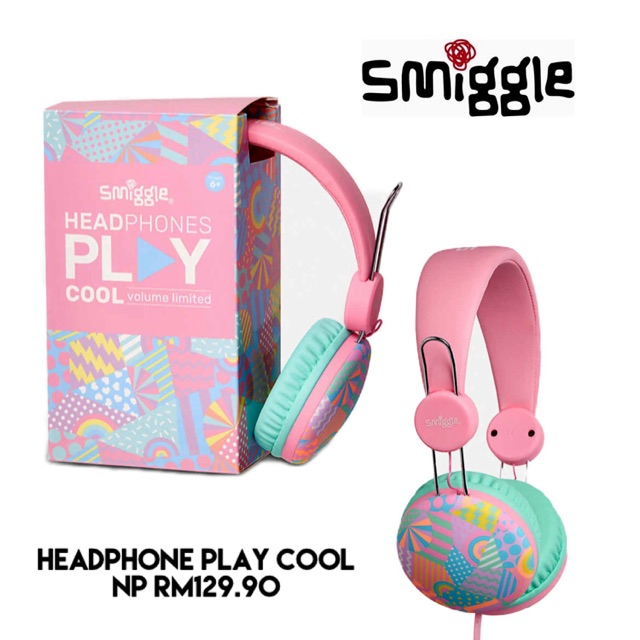 cheap sale no sale tax the sale of shoes Smiggle Play Cool Headphones | Shopee Malaysia