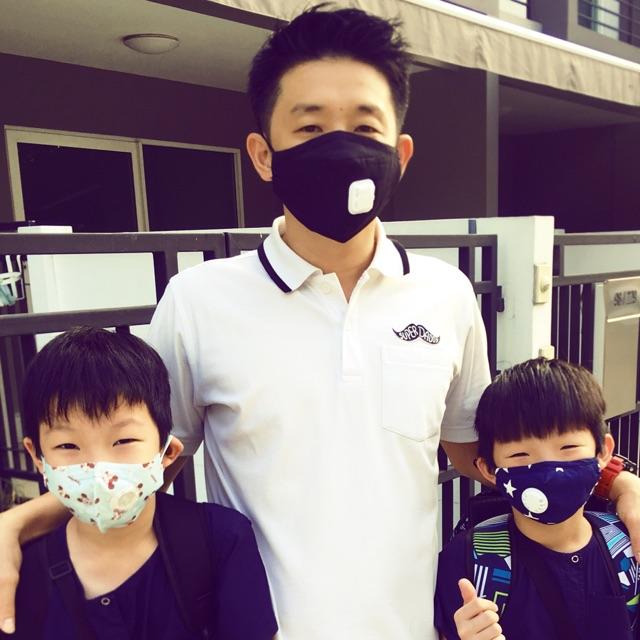 **พร้อมส่งในไทย** Mask หน้ากากป้องกันฝุ่นพิษ