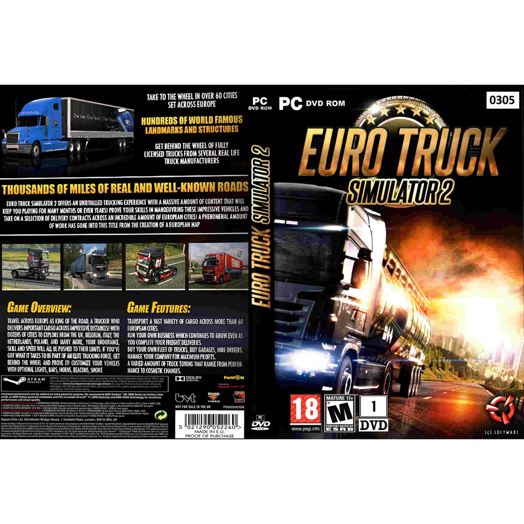 (PC) Euro Truck Simulator 2 (Beyond The Baltic Sea Added)