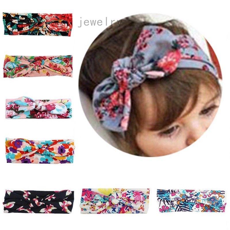 Elastic Baby Girl Hairband Ponytail Holder Bowknot Ball Kids Hair Ropes