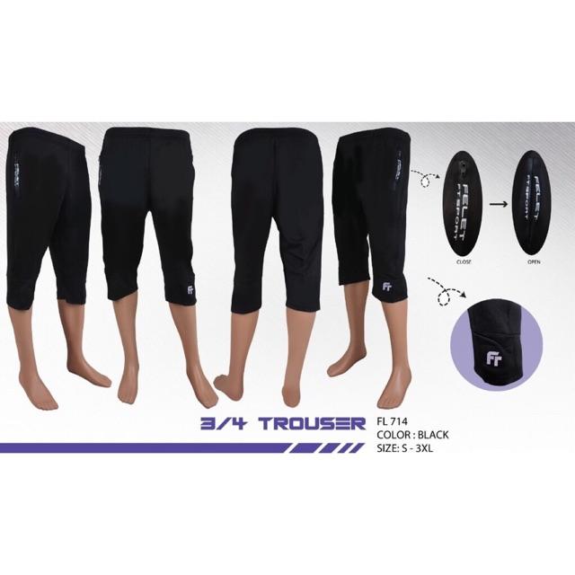 Fleet Felet Trouser 3/4 Short Pant 714