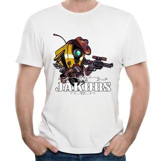 Borderlands 2 T Shirt Man Awesome Game Jakobs Claptrap Siren
