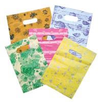 Pretty Plastic Gift Bag Shopping Bags