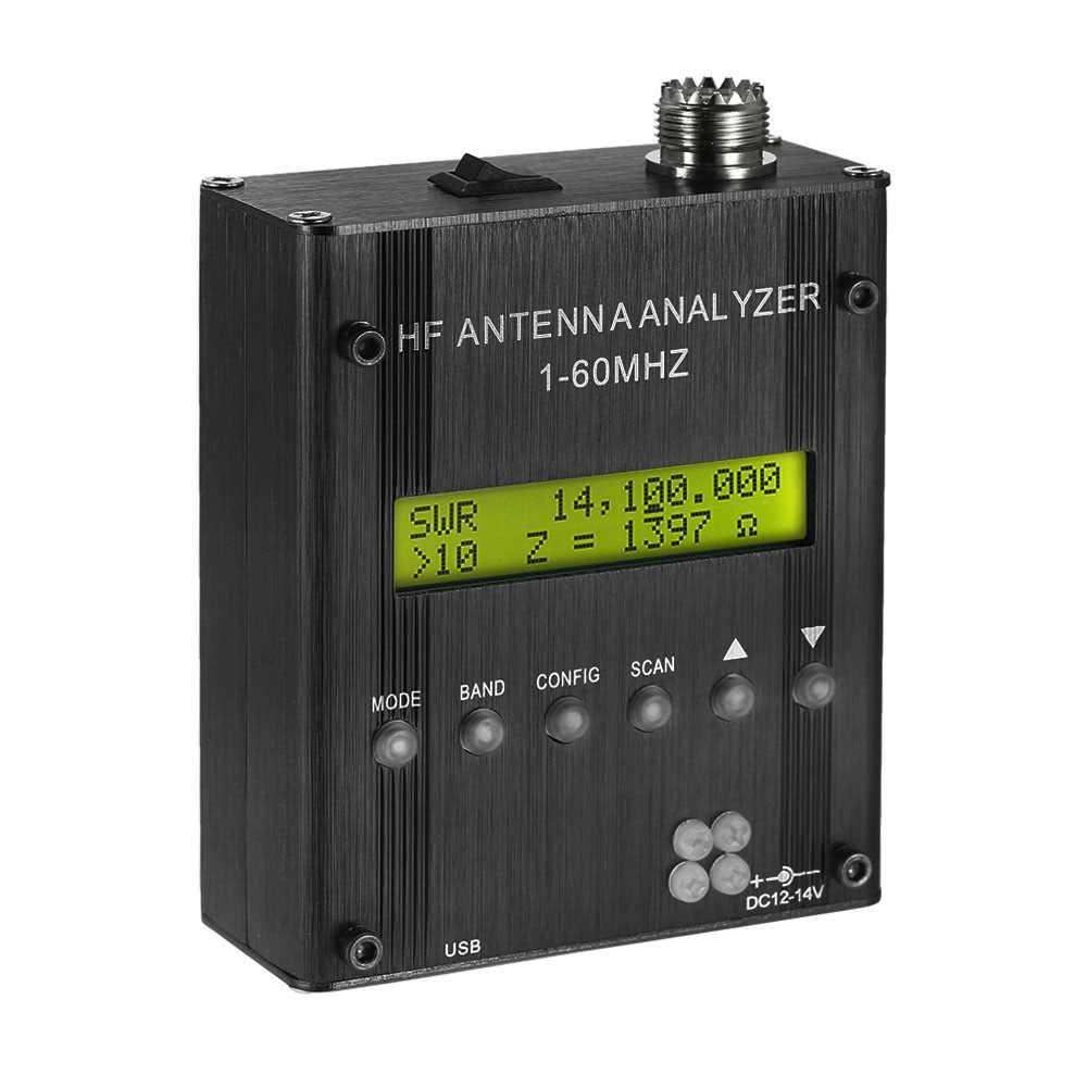 MR300 Digital Shortwave Antenna Analyzer Meter Tester