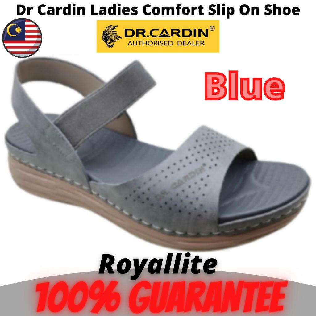 DR CARDIN LADIES SANDAL COMFORTABLE SHOES (2BI-1103) Blue & Pink