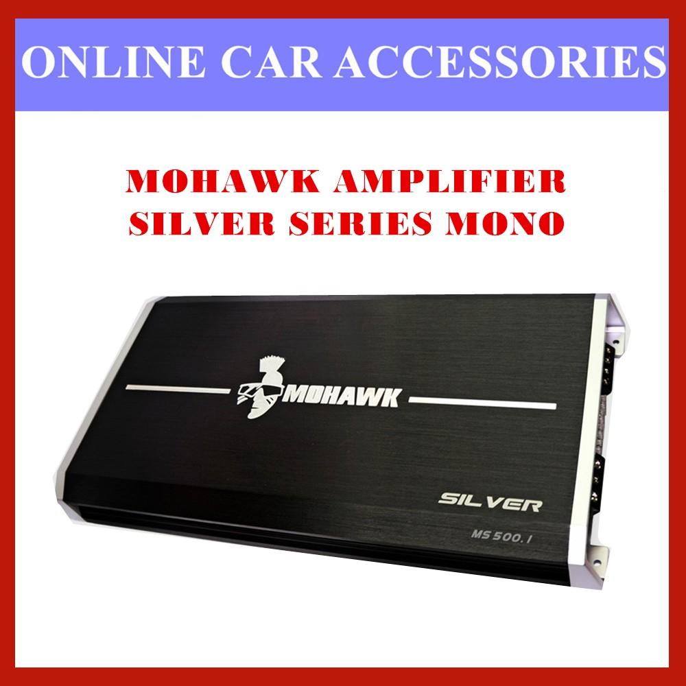 MOHAWK Silver MS500.1 High Power 500W Mono Amplifier