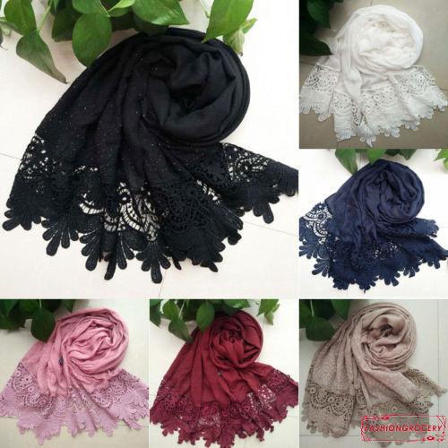 cbe7cf9c26f2f IMY-Women Soft Long Neck Large Scarf Wrap Shawl Pashmina Stole Scarve Cotton